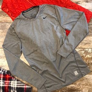 Nike Dri-Fit Long Sleeve Base Layer
